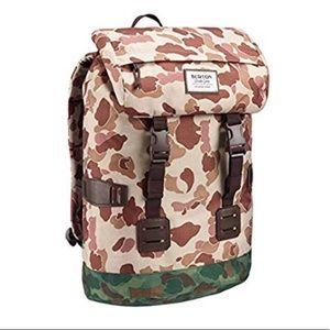 New Burton Tinder Backpack In Desert Duck Camo